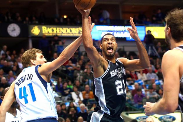Dallas Mavericks vs. San Antonio Spurs: Western Conference Round 1 Preview