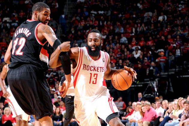 Houston Rockets vs. Portland Trail Blazers: Western Conference Round 1 Preview