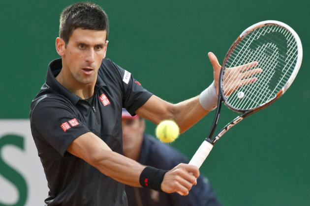 Novak Djokovic vs. Guillermo Garcia-Lopez: Score, Recap from Monte-Carlo Masters