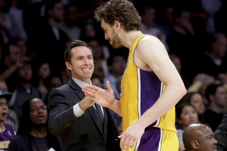 Steve Nash and Pau Gasol Tied Together Karmically in Lakers History