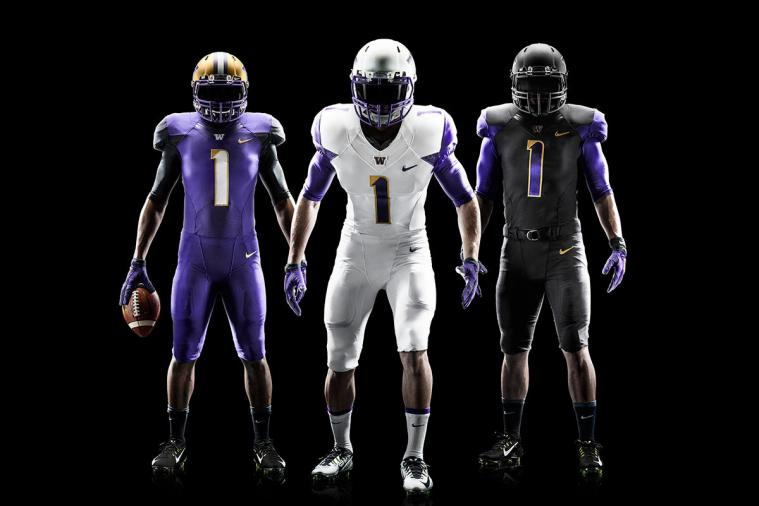 University of Washington Football Unveils New Nike Uniforms for 2014 Season