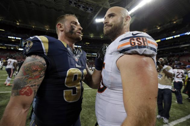 NFL's Chris and Kyle Long Make Twitter Bet on 2014 NHL Playoffs
