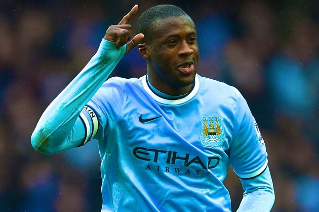 Yaya Toure Supports Samir Nasri's Claim That Africans Don't Get Proper Acclaim