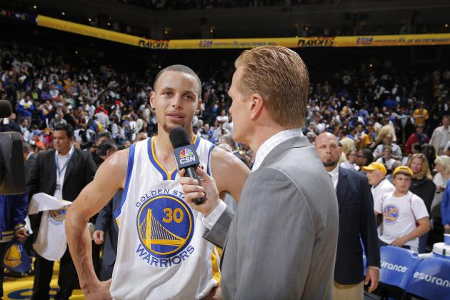 Stephen Curry and Al Jefferson Named NBA Players of the Month for April