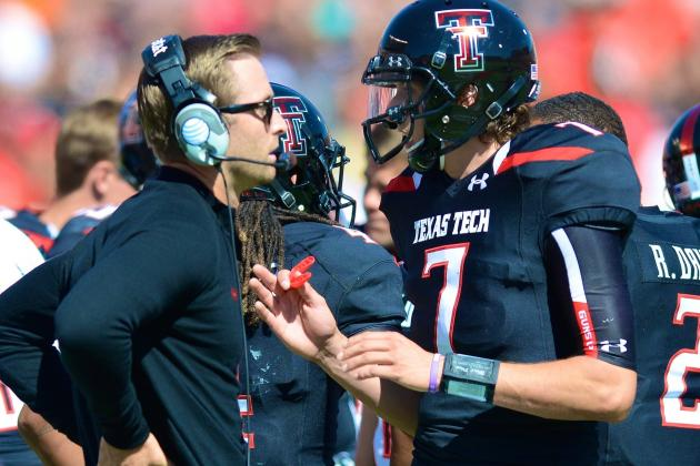 Texas Tech, Kliff Kingsbury Will Have to Weather the QB Storm for a Year