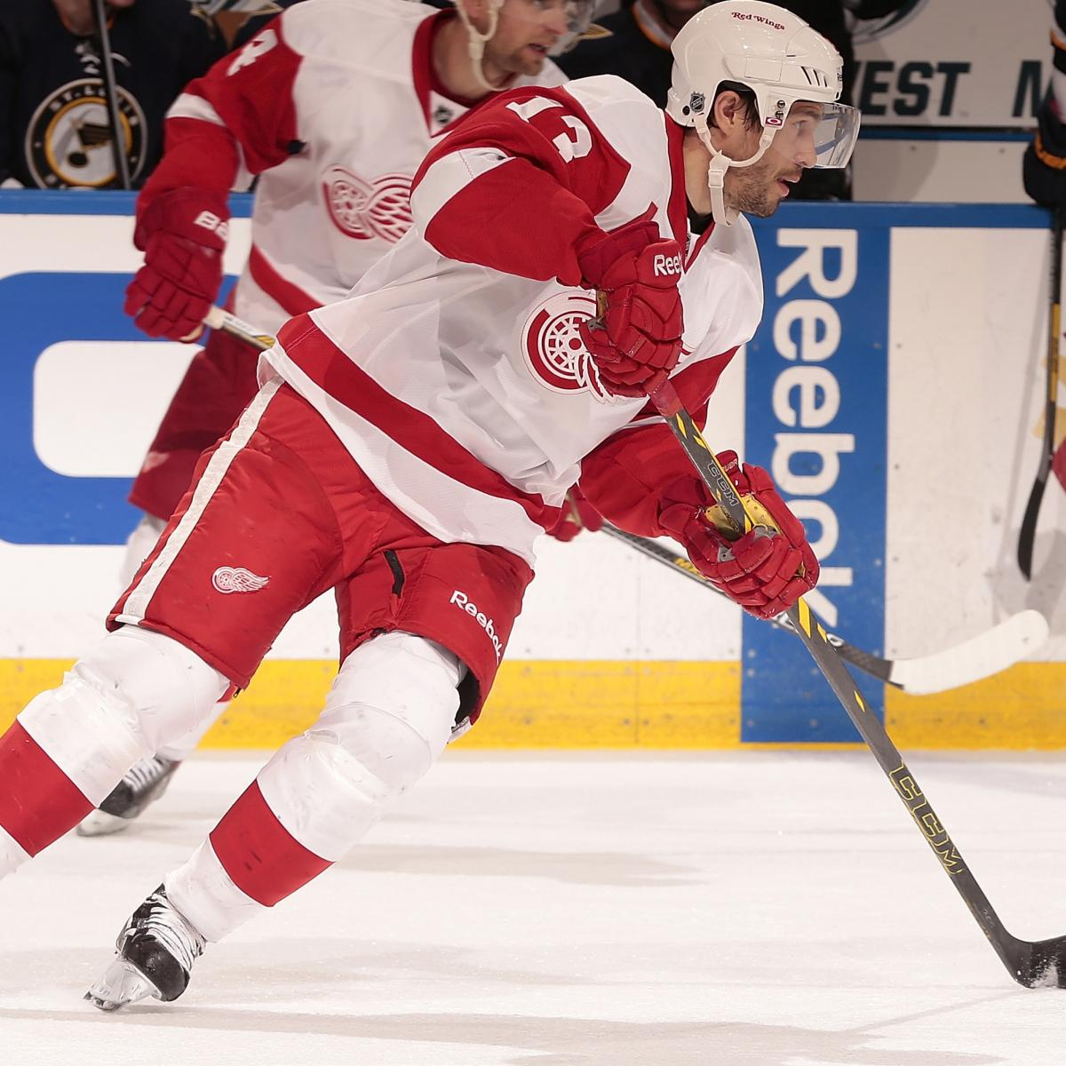 Detroit Red Wings Vs. Boston Bruins Game 1: Live Score And