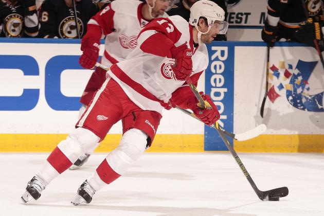 Detroit Red Wings vs. Boston Bruins Game 1: Live Score and Highlights