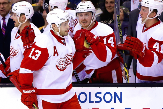 Pavel Datsyuk's Magic Lifts Red Wings in Game 1 as Bruins' Offense Disappears