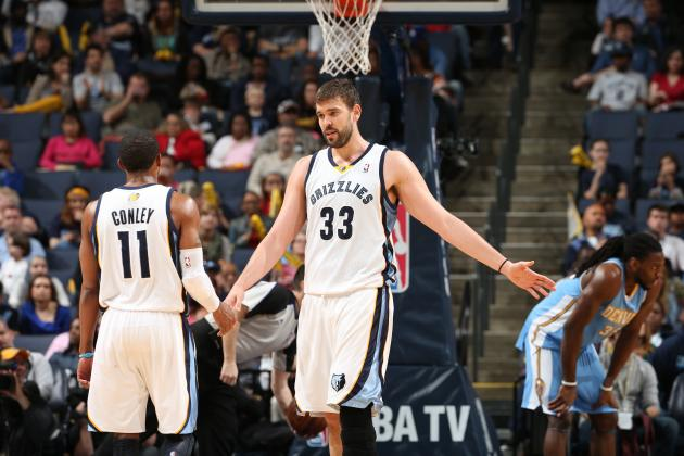 Building the Ideal Playoff Rotation for Memphis Grizzlies