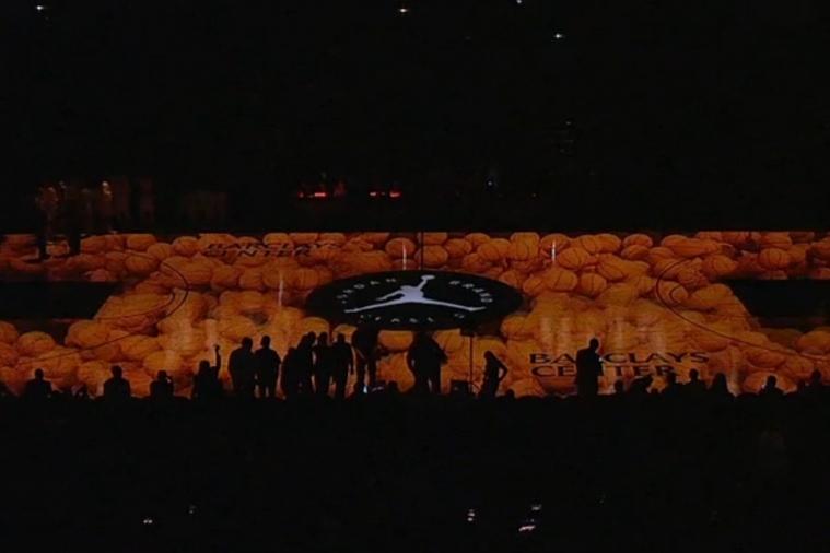 Jordan Brand Classic All-Star Game Begins with Sick 3-D Projection on Court