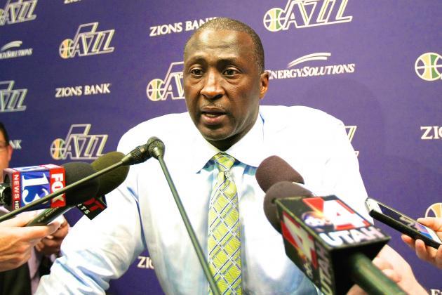 Utah Jazz Refute Reports of Coach Tyrone Corbin's Imminent Dismissal