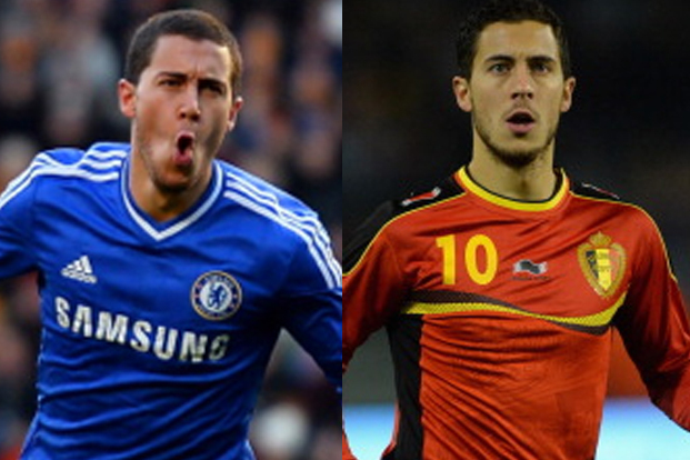 Complete Analysis of Eden Hazard's Chelsea Role vs. Belgium Role