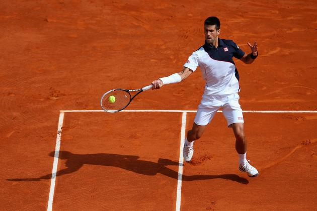 Roger Federer vs. Novak Djokovic: Score and Recap from Monte-Carlo Masters