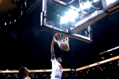 SMU Commit Emmanuel Mudiay Flushes a Ridiculous Alley-Oop