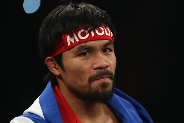 Manny Pacquiao Must Fight Floyd Mayweather to Maximize His Value