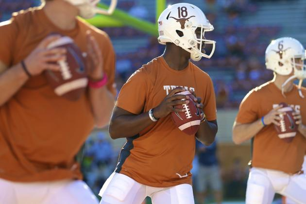 Texas Spring Game 2014: Live Score, Top Performers and Analysis