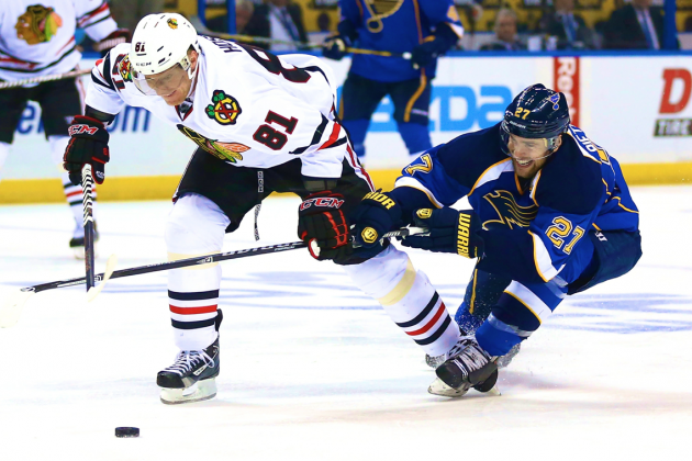 Chicago Blackhawks vs. St. Louis Blues Game 2: Live Score and Highlights