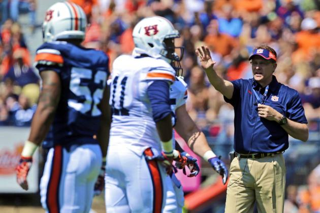 Auburn Spring Game 2014: Live Score, Top Performers and Analysis