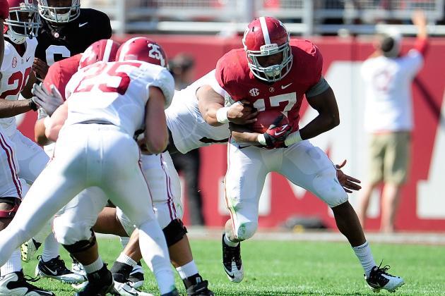 Alabama Football Spring Game 2014: Live Game Grades and Analysis