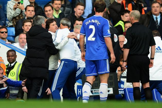 Jose Mourino Steps in as His Chelsea Assistant Rui Faria Loses His Cool