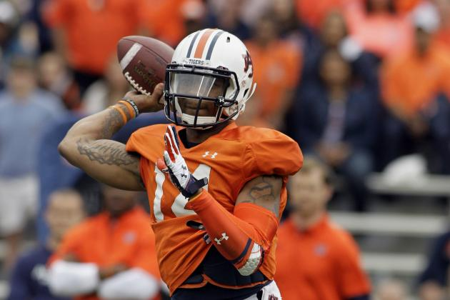 Auburn Spring Game 2014: Live Game Grades and Analysis