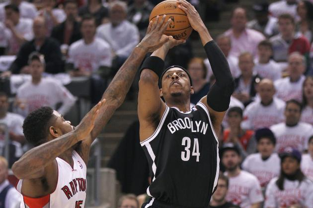 Pierce's Late Surge Buries Raptors in Toronto