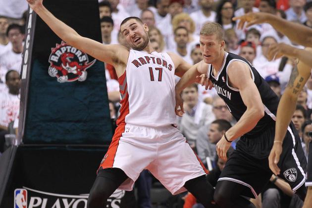 JV Has Big Night as Raptors Lose Playoff Opener