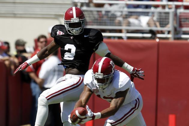 Alabama Spring Game 2014: Tony Brown Looking Like Savior of the Secondary
