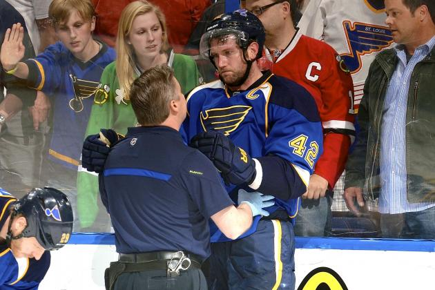 David Backes Injury: Updates on Blues Captain's Head and Return