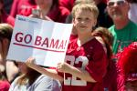 Alabama Spring Game Draws 73K Fans