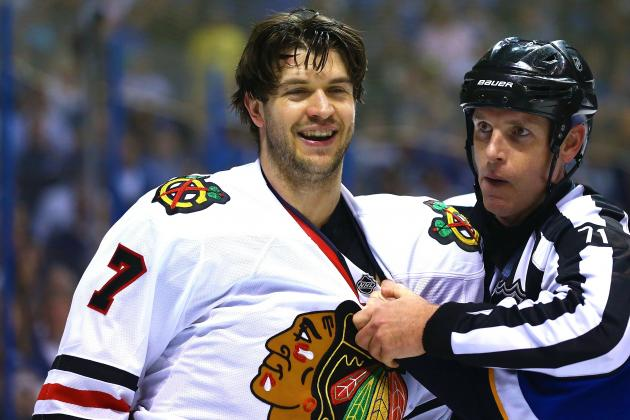 Blues vs. Blackhawks Boiling Over: St. Louis Takes 2-0 Lead in Physical Series