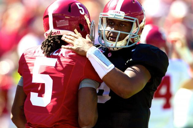Alabama Football:  Lane Kiffin Has to Be Thinking Jacob Coker After Spring Game