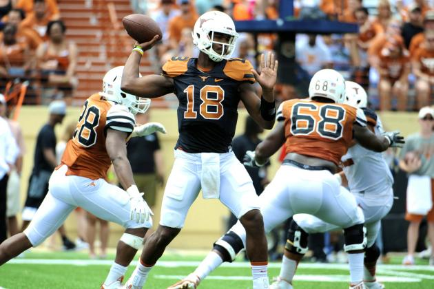 Texas Football Spring Game 2014: Live Game Grades and Analysis