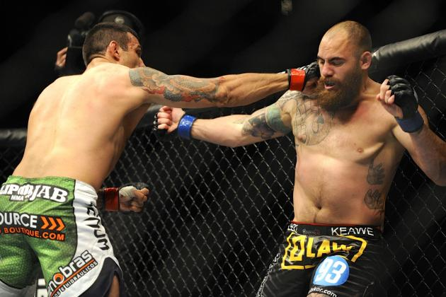 UFC on Fox 11 Live Results, Play-by-Play and Fight Card Highlights