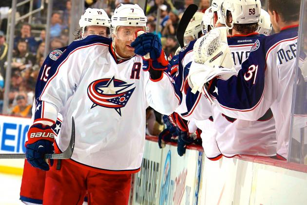 Columbus Blue Jackets vs. Pittsburgh Penguins Game 2: Live Score and Highlights