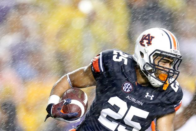 Auburn Running Back Peyton Barber's a-Day Injury Not Serious