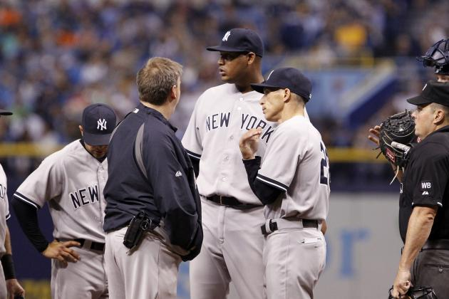 Yanks Lose Ivan Nova to Injury in 16-1 Blowout Loss to Rays