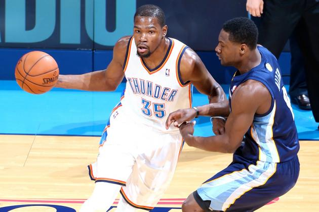 Grizzlies vs. Thunder: Game 1 Score and Twitter Reaction from 2014 NBA Playoffs