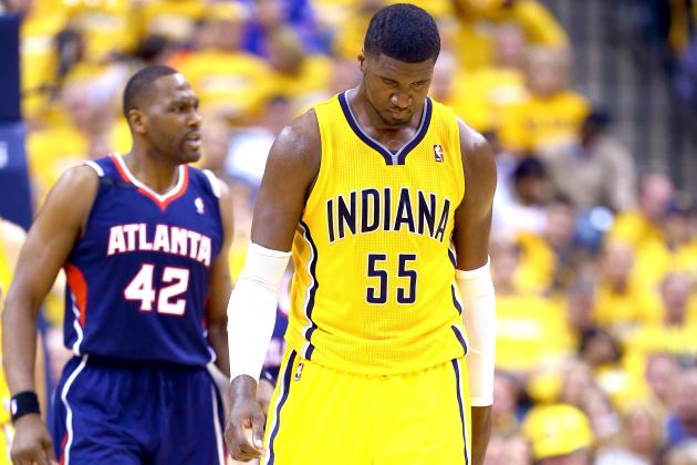 Roy Hibbert's Ineptitude Will Be Pacers' Undoing If Frank Vogel Doesn't Act Now