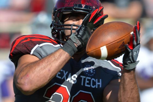 Falcons' Draft Board: Texas Tech TE Jace Amaro