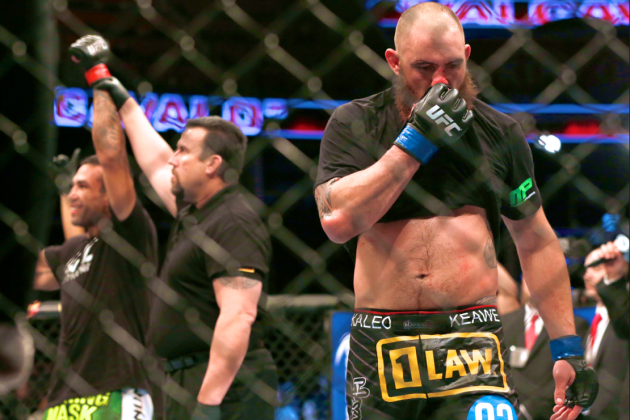 Travis Browne Not Quite Ready to Seize His Moment Against Fabricio Werdum