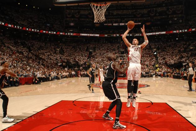 Raptors' Jonas Valanciunas Makes Big Impact in Game 1 Loss to Nets