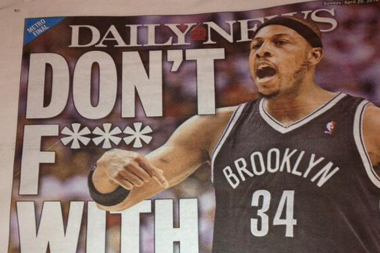 New York Daily News Front Page Fires Back at Raptors GM's 'F--k Brooklyn' Remark