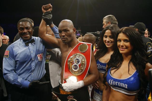 Bernard Hopkins Calls out Adonis Stevenson for Title Unification Fight