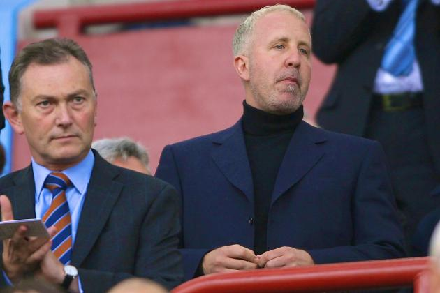 Aston Villa Chairman Randy Lerner Comments on Rumors About Selling the Club