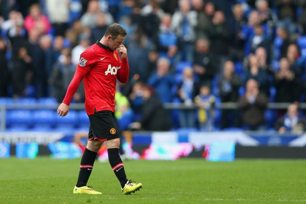 Twitter Reacts to Wayne Rooney's Performance from Manchester United vs. Everton