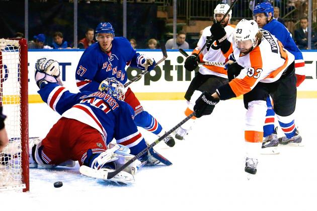 Flyers vs. Rangers: Game 2 Score and Twitter Reaction from 2014 NHL Playoffs