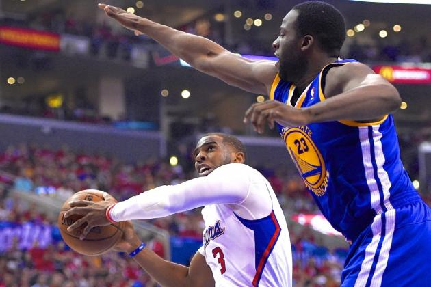 NBA Announces Draymond Green Should Have Been Called for Foul on Chris Paul