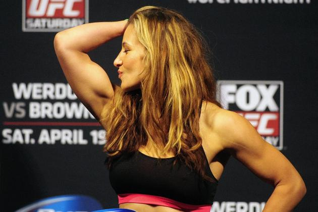 Miesha Tate: 'I'd Love to Fight Gina [Carano]'
