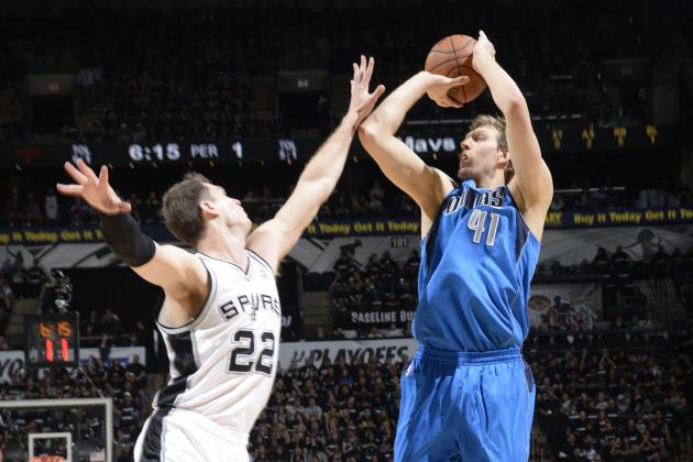 Will More Dirk Nowitzki Even Make a Difference Versus San Antonio Spurs?